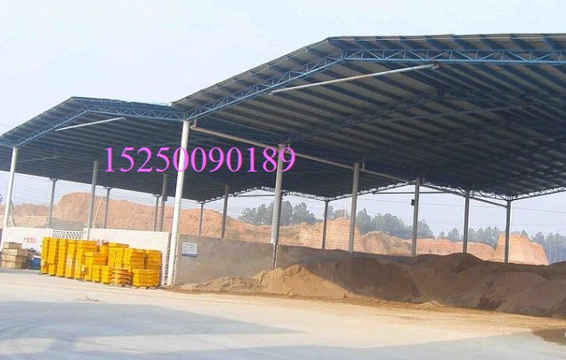 苏州彩瓦棚,苏州钢结构彩钢瓦雨棚汽车棚